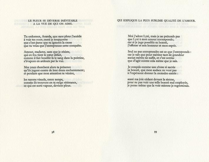 Poèmes Damour Et De Discrétion La Délirante